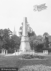 Bishop's Stortford, The War Memorial 1922