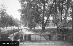 Bishop's Stortford, Town Mead Walk 1899
