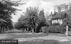Warwick Road c.1955, Bishop's Stortford