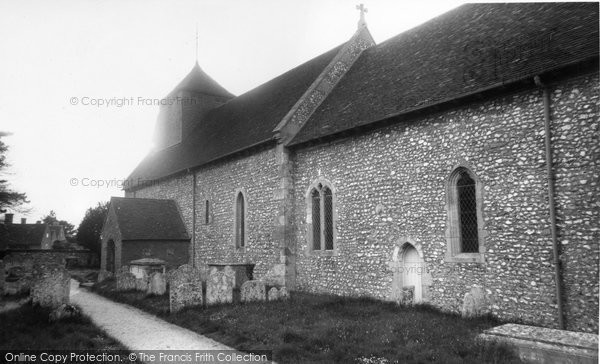 Bishop's Sutton, St Nicholas Church c.1960