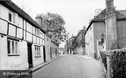 Bishop's Waltham, Bank Street c.1955
