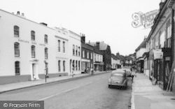 Bishop's Waltham, Barclays Bank c.1960