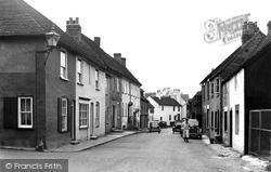 Bishop's Waltham, Basingwell Street c.1955