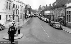 Bishop's Waltham, High Street 1957