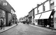 Bishop's Waltham, High Street c.1955