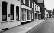 Bishop's Waltham, High Street, Shops c.1960