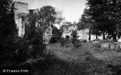 Bishop's Waltham, Palace c.1950