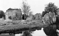 Bishop's Waltham, Palace Ruins c.1955