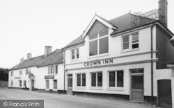 Bishop's Waltham, The Crown Inn c.1960
