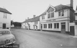 Bishop's Waltham, The Crown Inn, St George's Square c.1960