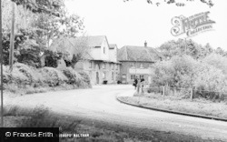 Bishop's Waltham, The Mill c.1955