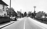 Bishop's Waltham, Winchester Road c1955