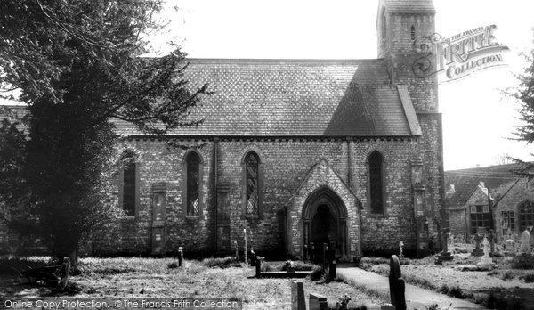 Bishop Sutton, Holy Trinity Church c.1965
