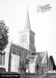 Bishops Cannings, Church 1950