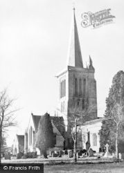 Bishops Cannings, St Mary's Church c.1939