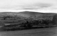 Bishops Castle, Bury Ditches c.1950