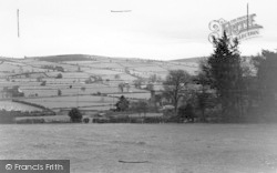Bishops Castle, General View c.1950