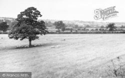 Bishops Castle, General View c.1960