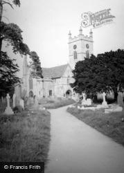 Bishops Cleeve, Church 1948
