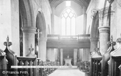 Bishops Cleeve, Church Of St Michael And All Angels, Interior c.1960