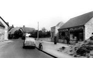 Bishops Cleeve, Church Road c.1960