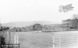 Bishops Cleeve, Secondary Modern School And Hill c.1965