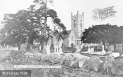 Bishops Cleeve, St Michael And All Angels Church c.1955