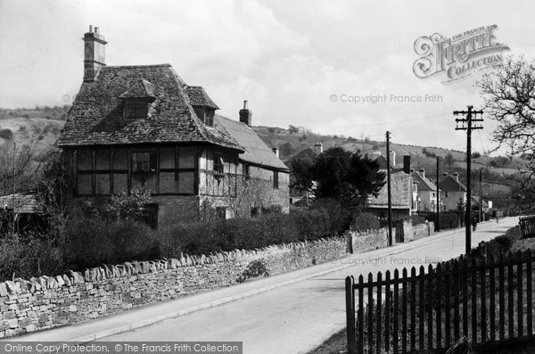 Photo of Bishops Cleeve, Station Road c1955
