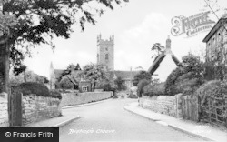 Bishops Cleeve, The Church And Village c.1960