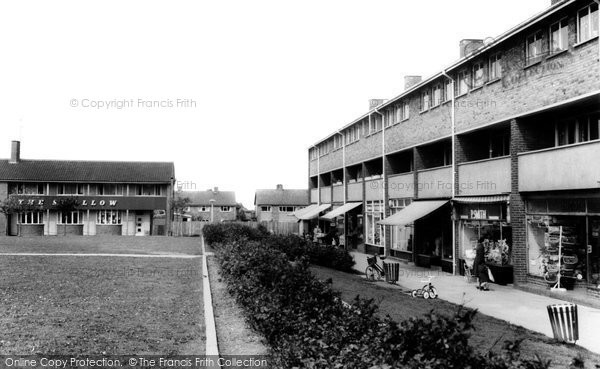 Bishops Cleeve, The Green c.1965
