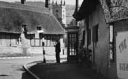 Bishops Cleeve, The Village Telephone Box c.1960