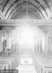 Church Interior 1906, Bishops Lydeard