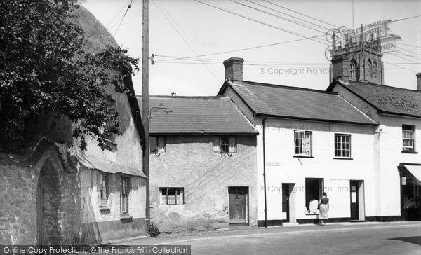 Bishops Lydeard, Church Street c.1955