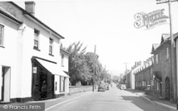 Church Street c.1955, Bishops Lydeard