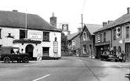 Bishops Lydeard, Gore Square c1960