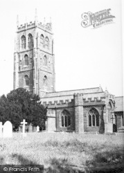 St Mary's Church c.1955, Bishops Lydeard