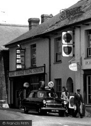 The Gore Garage Filling Station c.1960, Bishops Lydeard