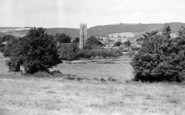 Bishops Lydeard, The Quantocks And Village c.1960