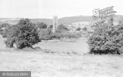 The Quantocks And Village c.1960, Bishops Lydeard