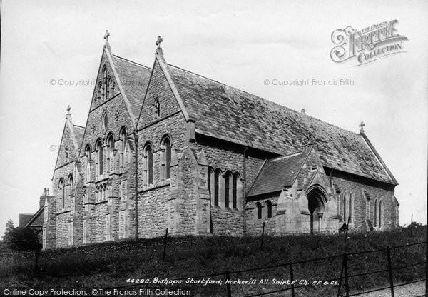 Bishops Stortford, Hockerill Church 1899