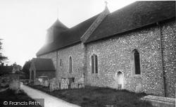 Bishops Sutton, St Nicholas Church c.1960, Bishop's Sutton