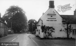 Bishops Sutton, The Ship Inn c.1960, Bishop's Sutton