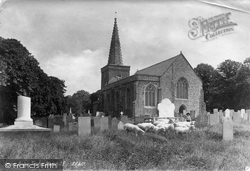 Bishops Tawton, Church Of St John The Baptist 1890