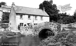 Bishops Tawton, Mill Cottages c.1955