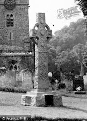 Bishops Tawton, St John The Baptist Churchyard c.1955
