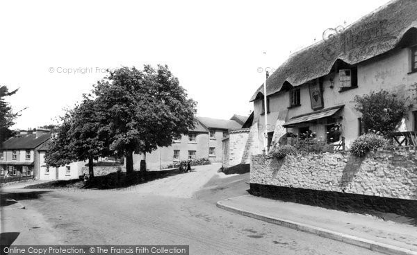 Bishops Tawton, The Square c.1960