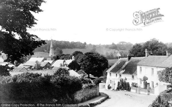 Bishops Tawton, The Village 1890