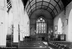 Church Interior 1890, Bishopsteignton