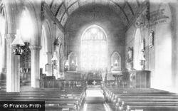 Church Interior 1895, Bishopsteignton