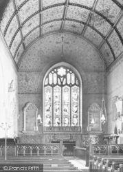 Church,  Painted Interior 1890, Bishopsteignton